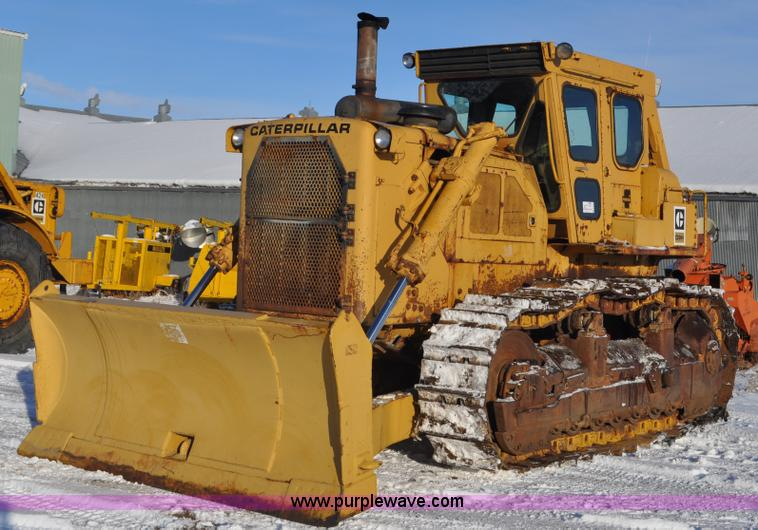 C3339.JPG - 1978 Caterpillar D9H dozer , 8,523 hours on meter , Caterpillar D353 24 2L six cylinder turbo diesel...