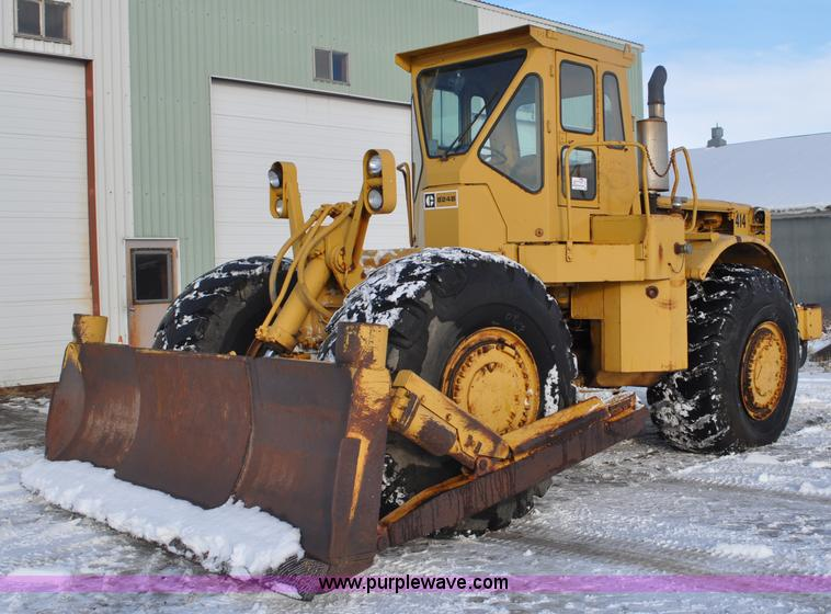 C3341.JPG - 1975 Caterpillar 824B articulated wheel dozer , 4,853 hours on meter , Caterpillar D343 six cylinder...