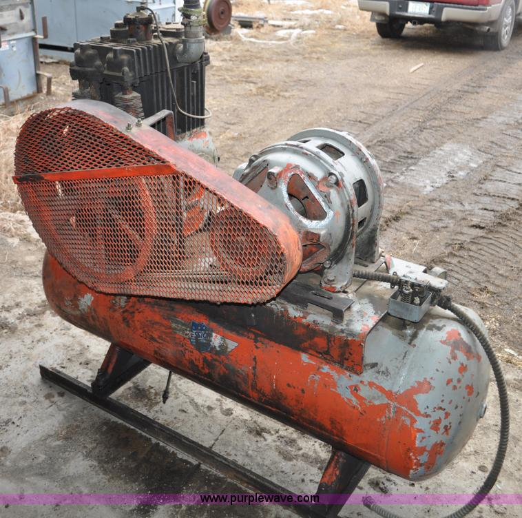 Essick f340 air compressor no reserve auction on for Essecke roller