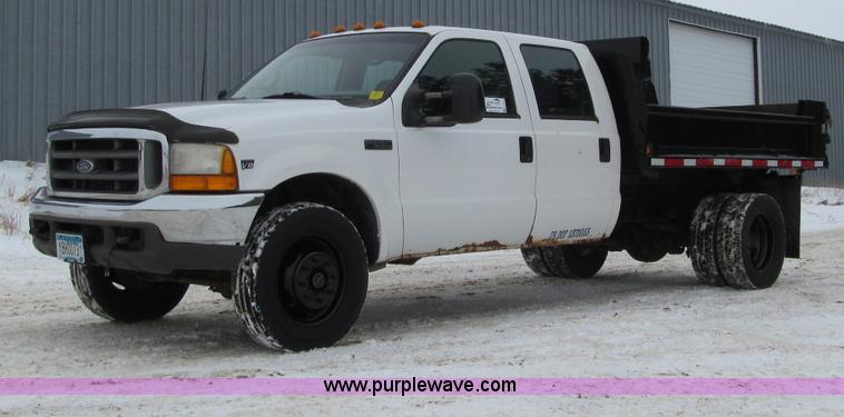 F5918.JPG - 1999 Ford F550 XLT Super Duty Crew Cab pickup truck , 292,857 miles on odometer , Powerstroke 7 3L V...