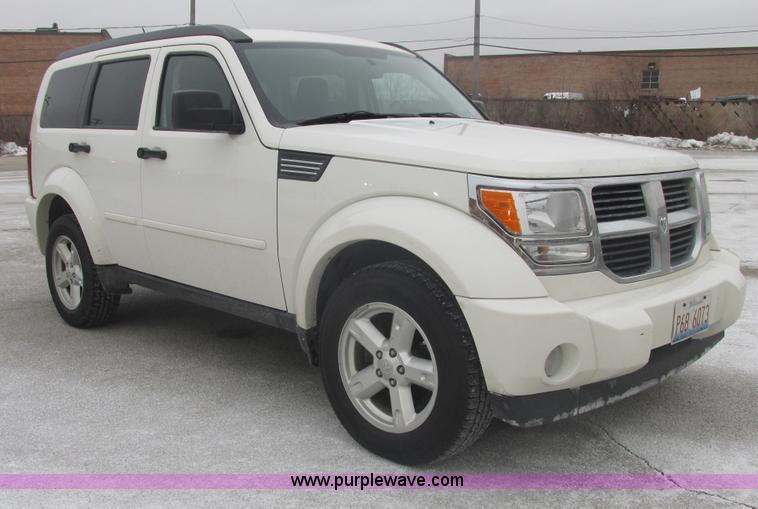 E7110.JPG - 2008 Dodge Nitro SLT SUV , 152,492 miles on odometer , 3 7L V6 SOHC 12V gas engine , Automatic trans...
