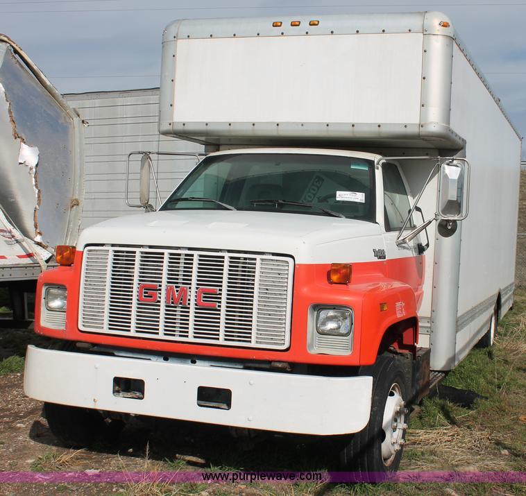 Gmc Topkick For Sale 4x4: 1993 GMC TopKick SLE Lo Pro Box Truck