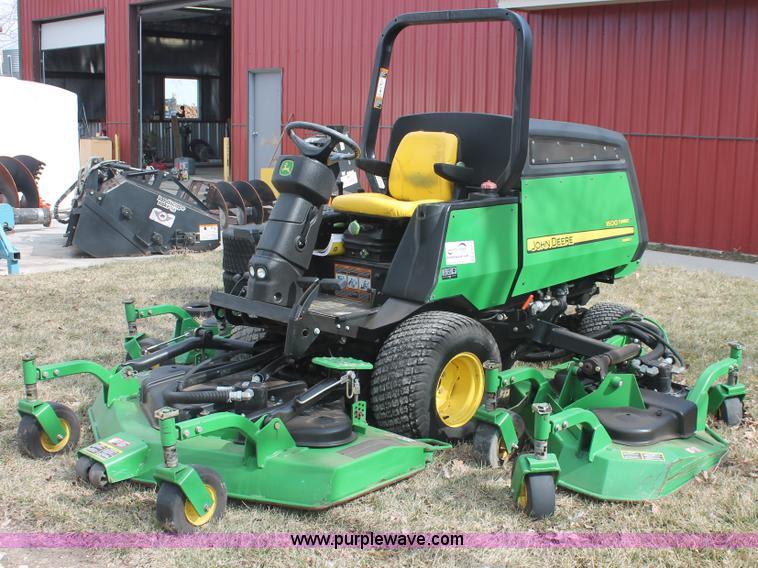 John Deere Lawn Mower Turbo : John deere turbo series ii mower no reserve auction