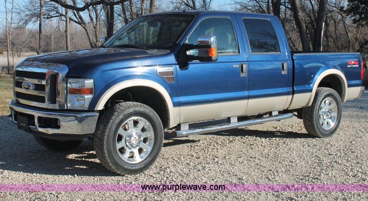 E2877.JPG - 2008 Ford F250 Lariat Super Duty CrewCab pickup truck , 108,818 miles on odometer , 6 4L V8 OHV 32V ...