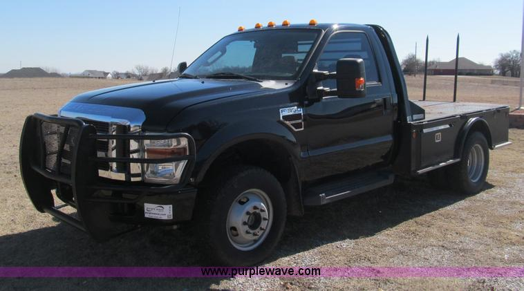 F3130.JPG - 2008 Ford F350 Super Duty flatbed pickup truck , 208,000 miles on odometer , 6 4L V8 OHV 32V turbo d...