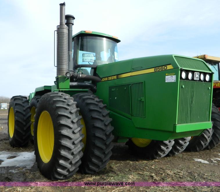 G7726.JPG - 1990 John Deere 8560 4WD tractor , 8,758 hours on meter , John Deere 7 6L six cylinder turbo diesel ...
