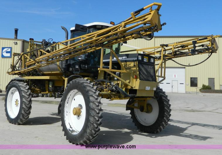 G7758.JPG - 1995 Ag Chem RoGator 854 self propelled sprayer , 3,615 hours on meter , Caterpillar six cylinder di...