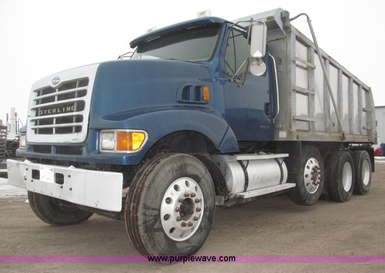 B5408.JPG - 2001 Sterling LT8500 triple axle dump truck , 281,384 miles on odometer , Caterpillar 3126 7 2L L6 t...