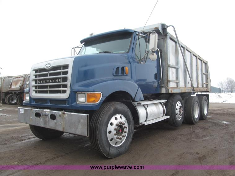 B5412.JPG - 2001 Sterling LT8500 triple axle dump truck , 321,664 miles on odometer , Caterpillar 3126 7 2L L6 t...