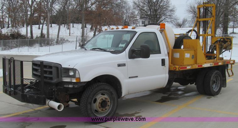 E3788.JPG - Foremost Mobile Core drill mounted on 2002 Ford F550 Super Duty truck , 112,676 miles on odometer , ...