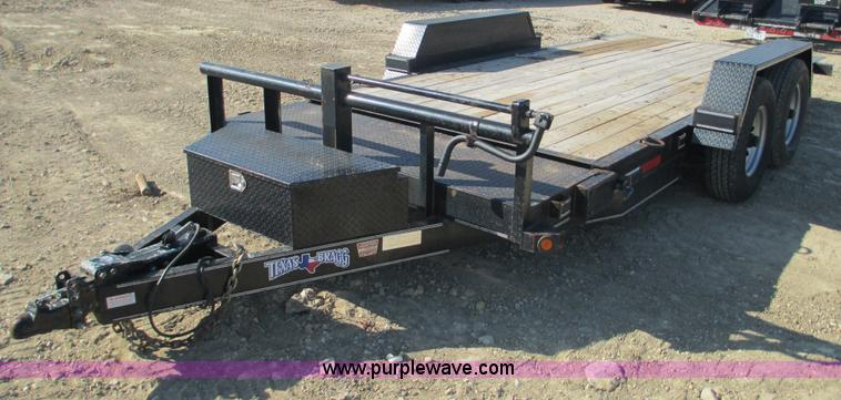 F3152.JPG - 2010 Texas Bragg tilt deck trailer , 16L x 80 quot W wood deck , 4 tie downs , 41 quot x 17 quot too...