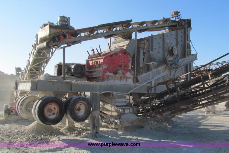 F4739.JPG - Hazmag APSE 1013K impact crusher , Electric , T/A Carrier , Allis Chalmer three deck screen , 30 HP ...