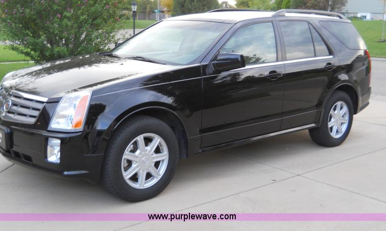 2004 Cadillac Srx Suv No Reserve Auction On Wednesday