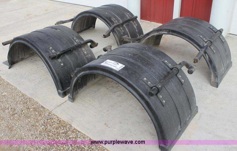 For A Semi Tractor Fenders : Fleet engineers semi fenders no reserve auction on