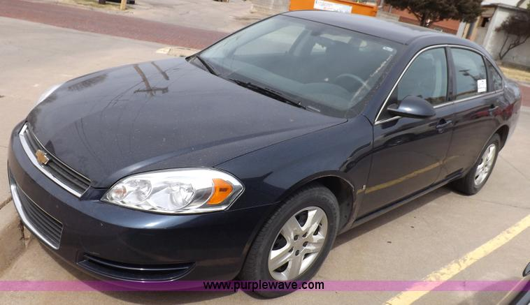 F6479.JPG - 2008 Chevrolet Impala LS , 189,470 miles on odometer , Miles may vary, in use , 3 5L V6 OHV 16V FFV ...