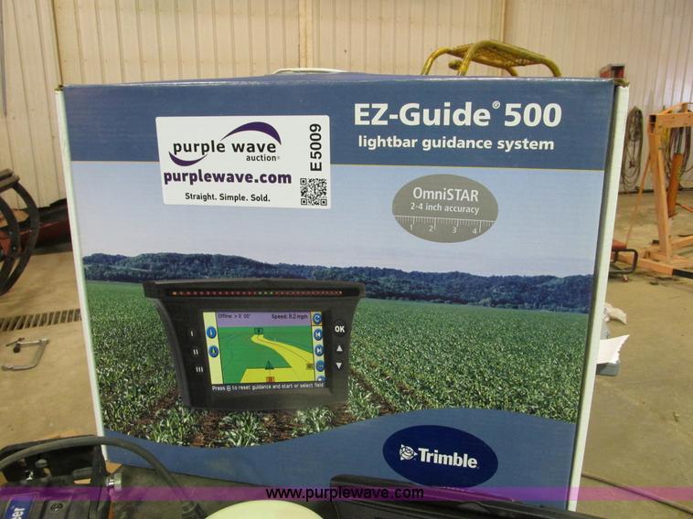 E5009.JPG - EZ Steer 500 assisted steering system , T2 Terrain , Compensation , Technology , EZ Guide 500 , EZ s...