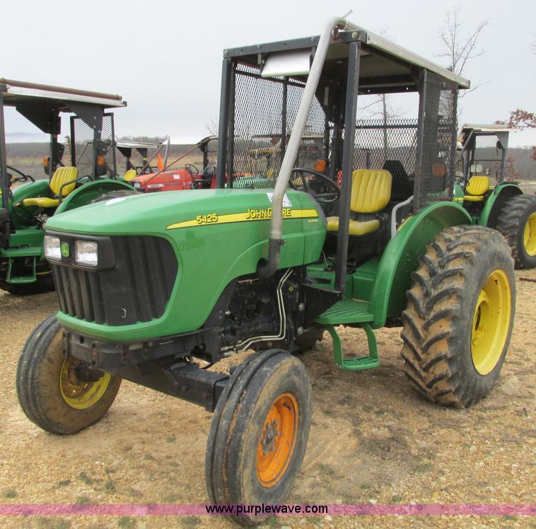 F4474.JPG - 2005 John Deere 5425 tractor , 1,246 hours on meter , John Deere 4 5L four cylinder diesel engine , ...