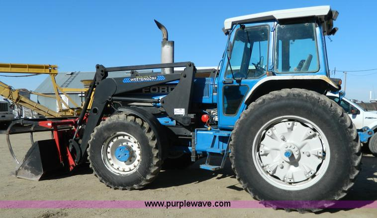 G7808.JPG - 1991 Ford TW 25 MFWD tractor , Approx 10,000 hours , Ford six cylinder diesel engine , 145 HP , Two ...