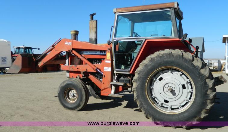 G7809.JPG - 1981 Massey Ferguson 2705 tractor , 4,678 hours on meter , Perkins six cylinder diesel engine , 120 ...