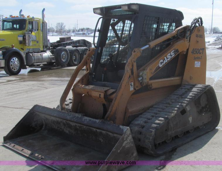 E3791.JPG - 2008 Case 450CT Series 3 skid steer , 1,151 hours on meter , Approximately 3,000 actual hours , 445T...
