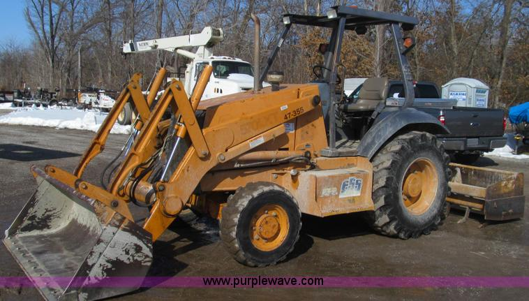 E3793.JPG - 2001 Case 570 LXT landscape loader , 6,093 hours on meter , Four cylinder diesel engine , 71 HP , Sh...