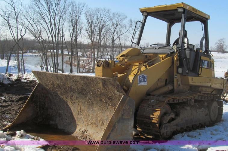 E3794.JPG - 2004 Caterpillar 953C track loader , 12,099 hours on meter , Caterpillar 3126 turbo diesel engine , ...