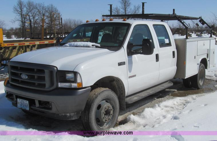 E3797.JPG - 2004 Ford F450 XL Super Duty utility truck , 170,340 miles on odometer , 6 0L V8 OHV 32V turbo diese...