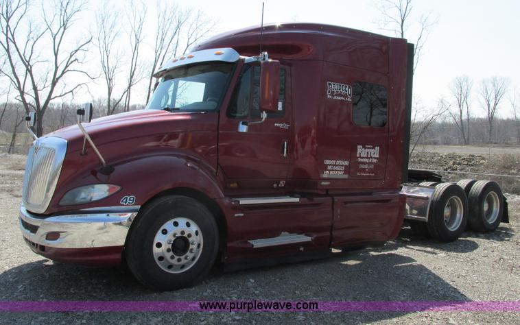 F4497.JPG - 2008 International ProStar Eagle semi truck , 524,756 miles on odometer , Cummins ISX485 14 9L L6 di...