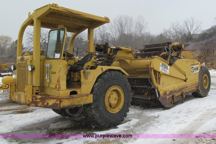 F5967.JPG - 1974 Caterpillar 613B elevating scraper , 2,925 hours on meter , Caterpillar 3206 diesel engine , 4F...