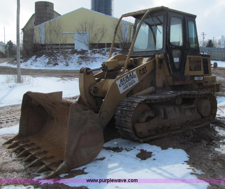 F5968.JPG - Caterpillar 953 LGP track loader , 7,033 hours on meter , Caterpillar 3204 diesel engine , Hydrostat...