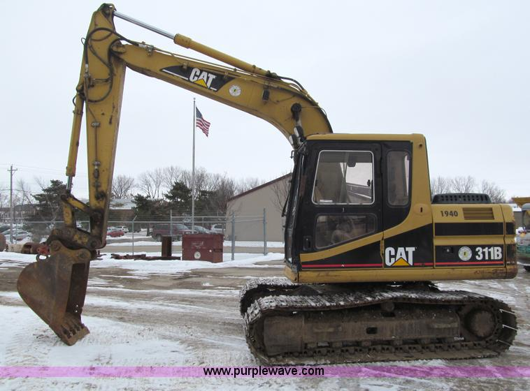 I9817.JPG - 1998 Caterpillar 311B excavator , 12,948 hours on meter , Caterpillar 3064T four cylinder diesel eng...