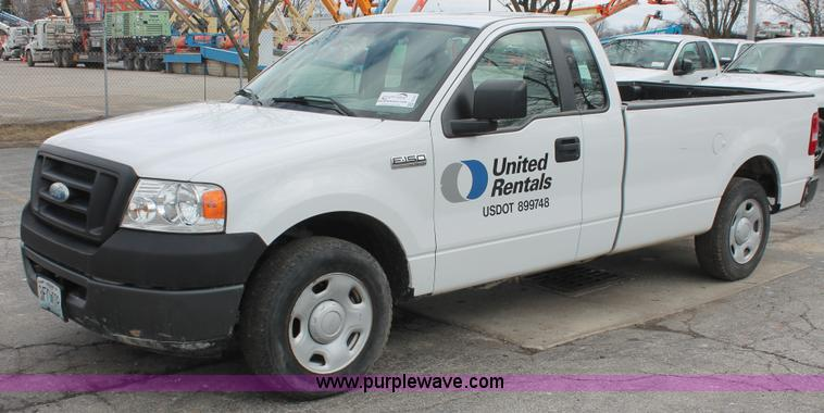 E3327.JPG - 2007 Ford F150 XLT pickup truck , 47,532 actual miles , 4 6L V8 SOHC 16V gas engine , Automatic tran...