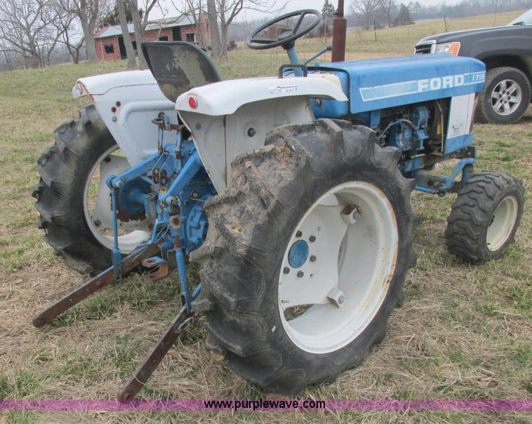 Ford 1710 Engine : Ab b g ford tractor hours on
