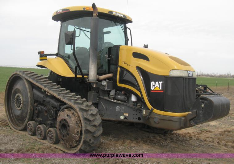 E3325.JPG - 2002 Caterpillar Challenger MT755 tractor , 4,620 hours on meter , Caterpillar diesel engine , Trans...