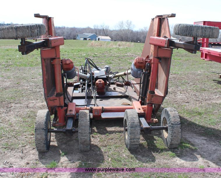 Brush hog 2615r rotary mower no reserve auction on Hydraulic motor for brush cutter
