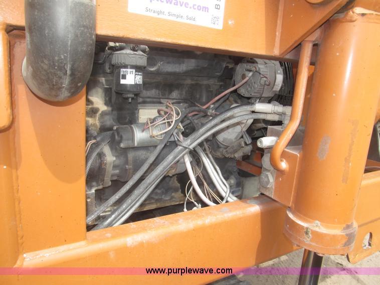 B5453ZK.JPG - 1996 Lull 644B 37 Highlander series telehandler , 3,699 hours on meter , John Deere four cylinder di...