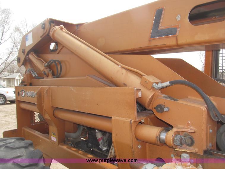 B5453ZP.JPG - 1996 Lull 644B 37 Highlander series telehandler , 3,699 hours on meter , John Deere four cylinder di...
