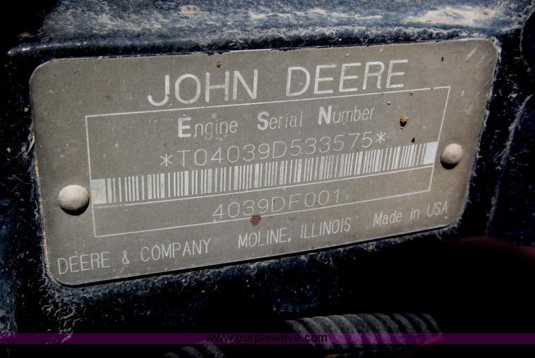 B5453ZU.JPG - 1996 Lull 644B 37 Highlander series telehandler , 3,699 hours on meter , John Deere four cylinder di...