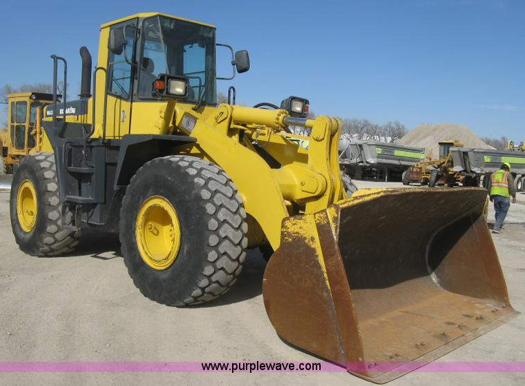 E3317.JPG - 1999 Komatsu WA380 3MC wheel loader , 625 hours on meter , Actual hours unknown , Six cylinder diese...