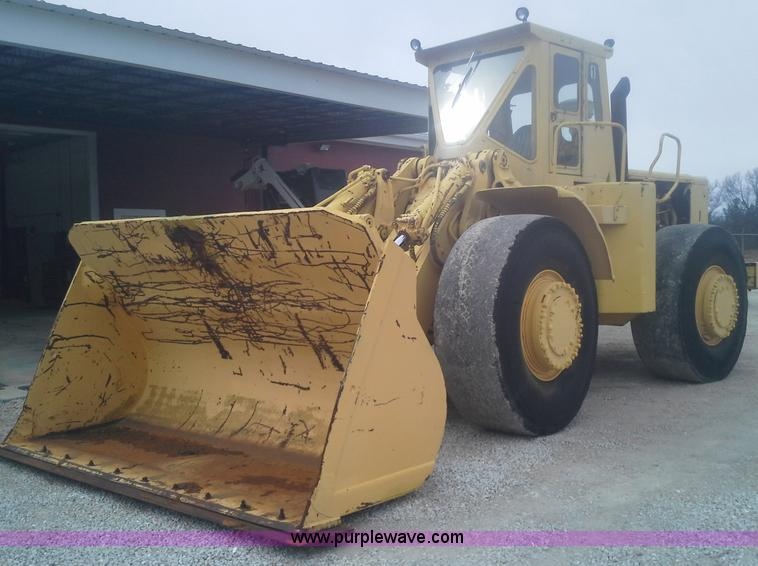 E7136.JPG - 1972 Caterpillar 988 articulating wheel loader , Four cylinder engine , 325 HP , Enclosed cab , Inte...