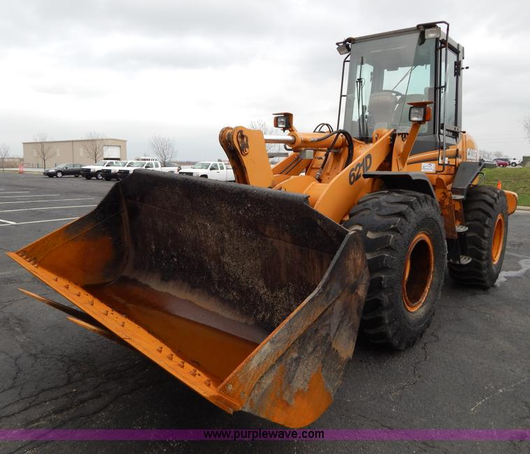 G3078.JPG - 2004 Case 621D wheel loader , 5,109 hours on meter , Inline six cylinder turbo diesel engine , Four ...
