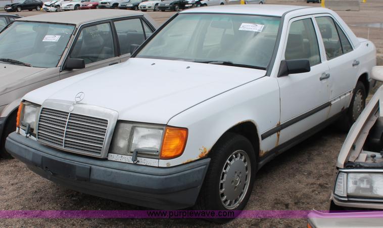 1989 mercedes benz 300e no reserve auction on monday for 1989 mercedes benz 300e