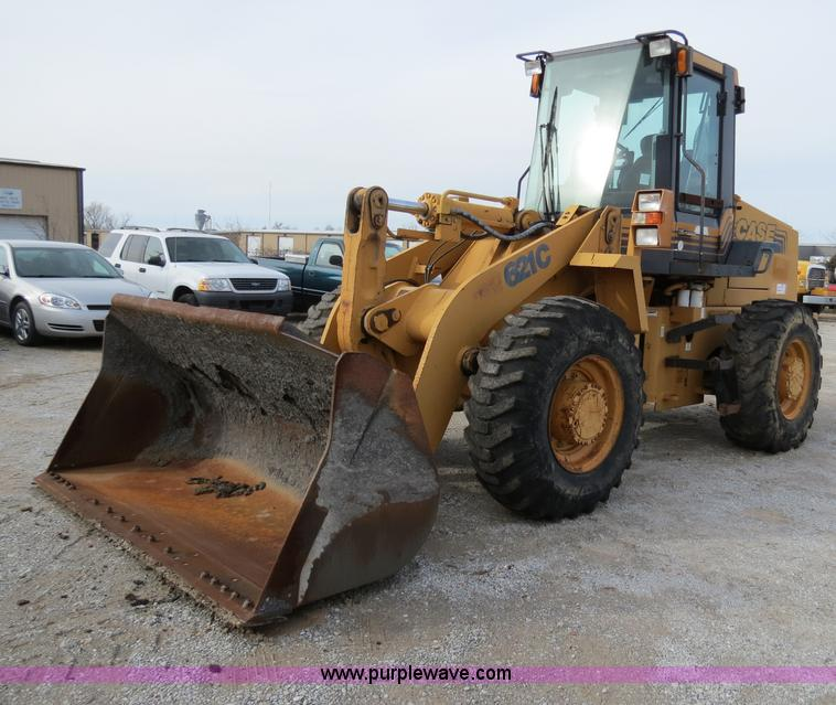 B4629.JPG - 1999 Case 621C wheel loader , 5,341 hours on meter , Case 5 9L turbo diesel engine , Model 6T 590 , ...