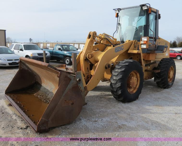 B4630.JPG - 1999 Case 621C wheel loader , 5,028 hours on meter , Case 5 9L turbo diesel engine , Model 6T 590 , ...