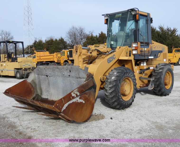 B4631.JPG - 1999 Case 621C wheel loader , 3,915 hours on meter , Case 5 9L turbo diesel engine , Model 6T 590 , ...