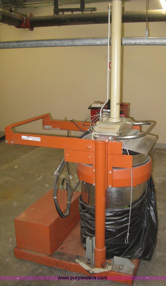 Commercial Compactor Wheel : Orwak b commercial trash compactor no reserve
