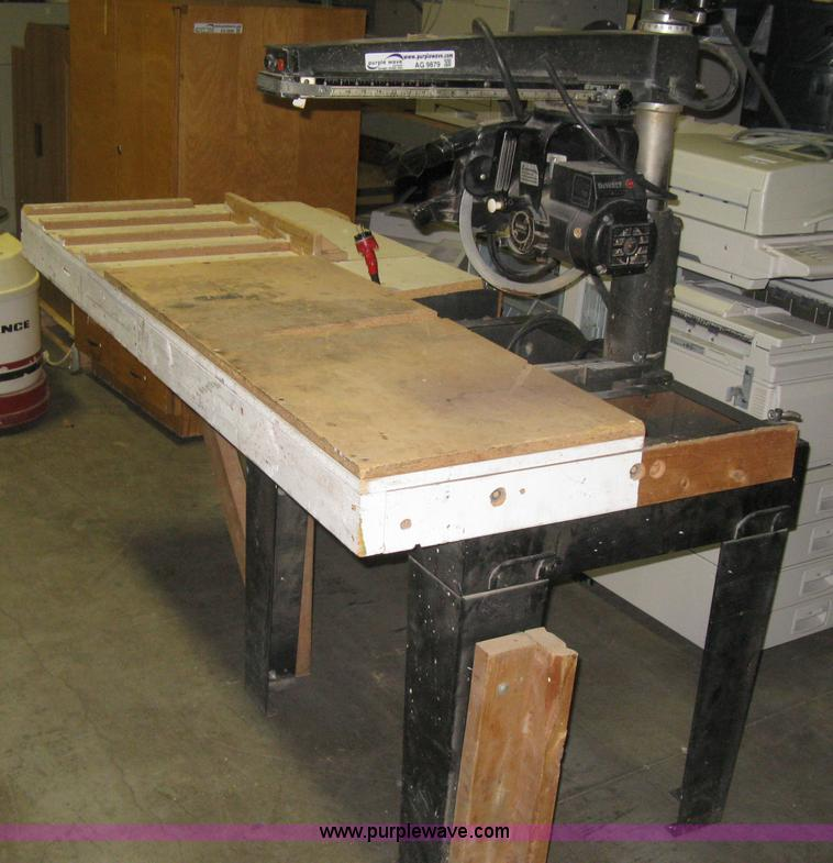 Dewalt Radial Arm Saw Table Top Images