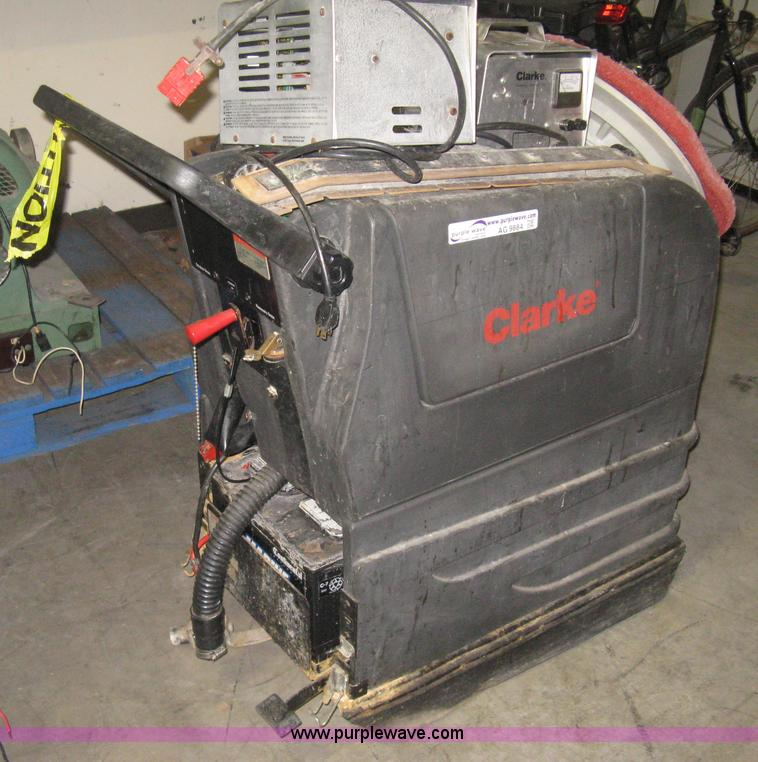 No Reserve Auction On Tuesday May 07: Clarke Vision 17 Floor Scrubber