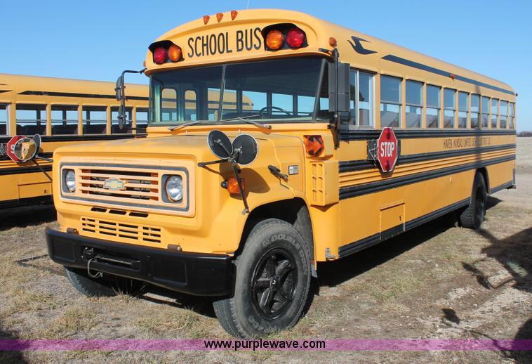 1991 Blue Bird 60 School Bus No Reserve Auction On