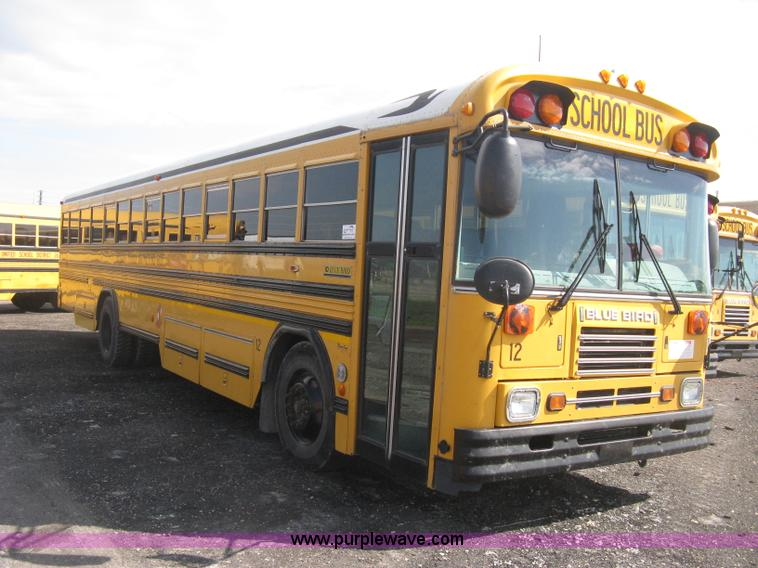 2004 Blue Bird School Bus No Reserve Auction On Tuesday May 07 2013